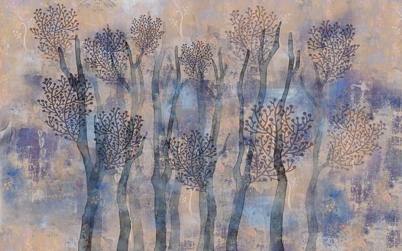 Фотообои Абстракция деревья
