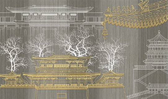 Фотообои Японский храм