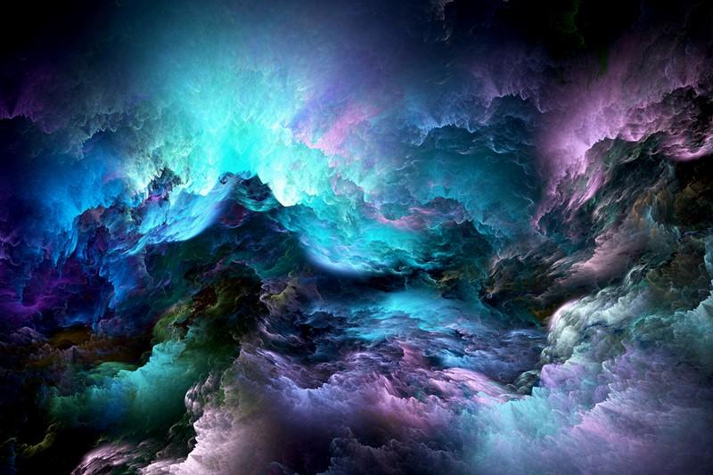 Абстракция злое небо