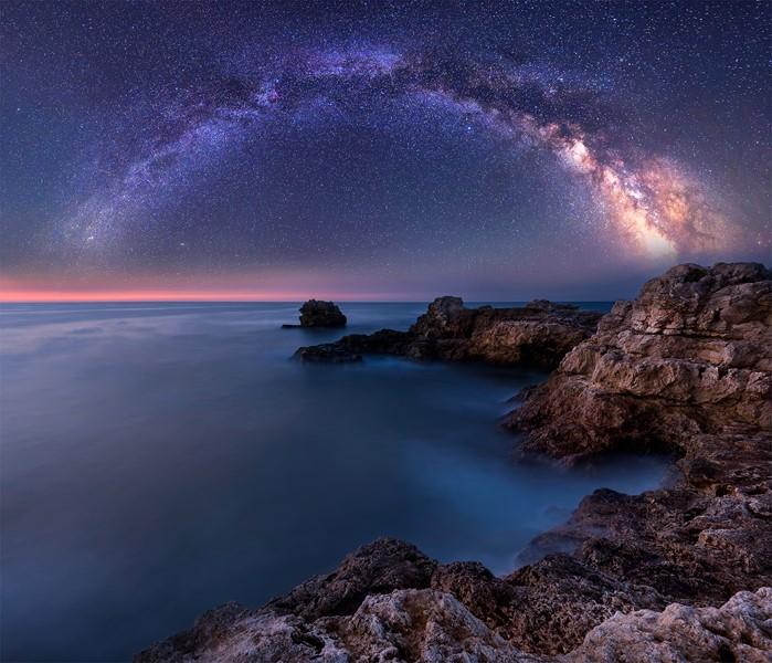 Абстракция звёздное небо