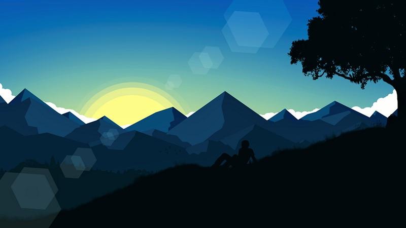 Фотообои Абстракция восход