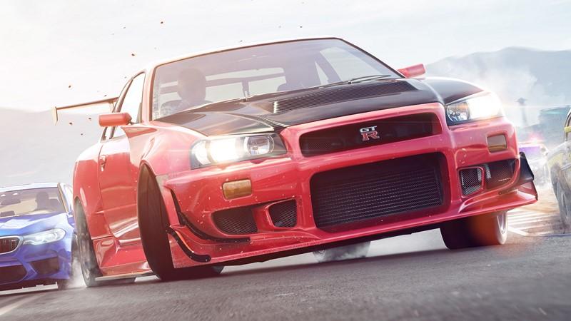 Фотообои Красный спортивный форд