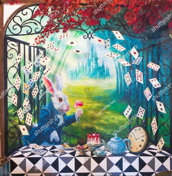 Фотообои Кролик из страны чудес