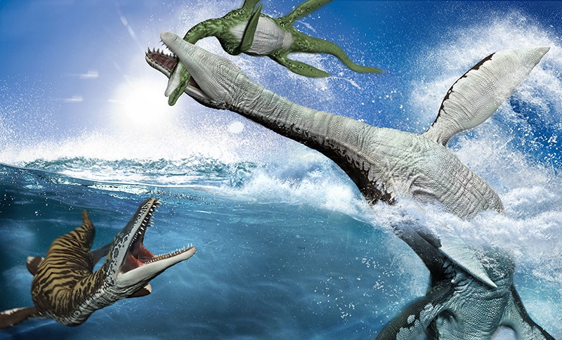 Фотообои Морские динозавры
