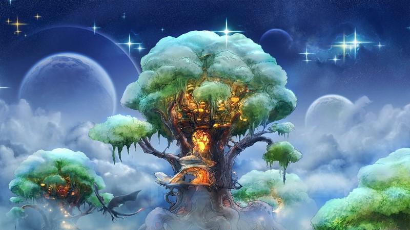 Фотообои Чудесное дерево