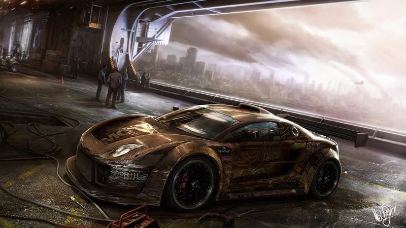 Фотообои Авто в будущем