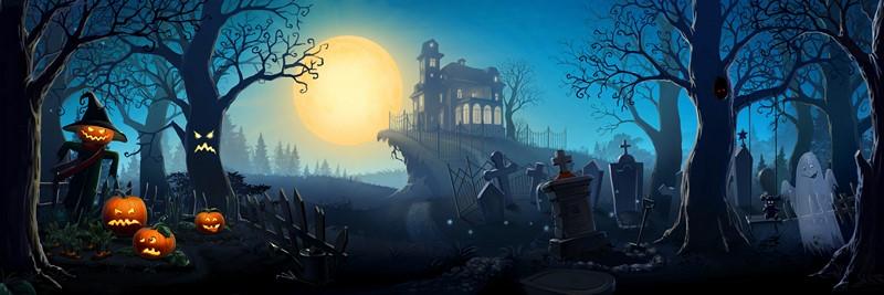 Фотообои Хеллоуин