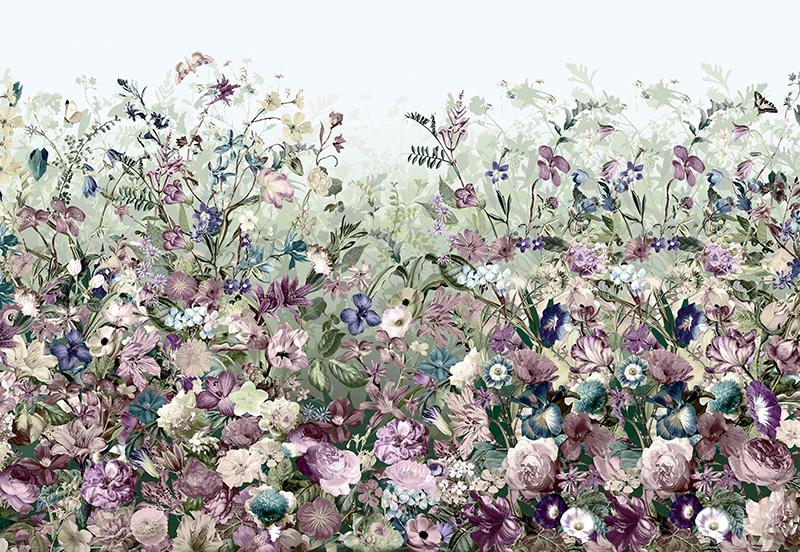 Фотообои Цветочный мир