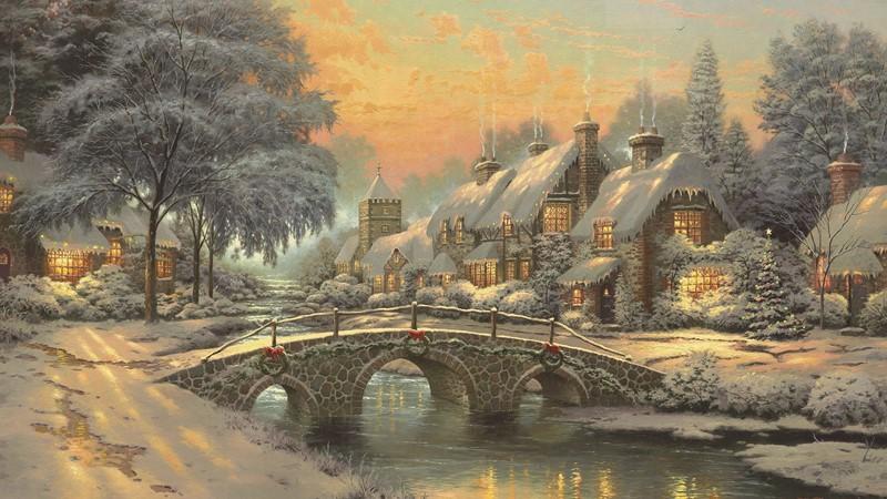 Фотообои Сказочное рождество
