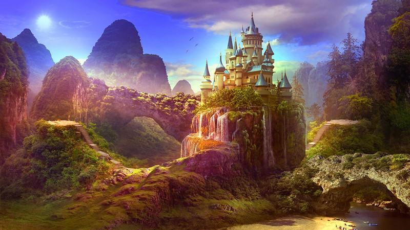 Фотообои Волшебный замок