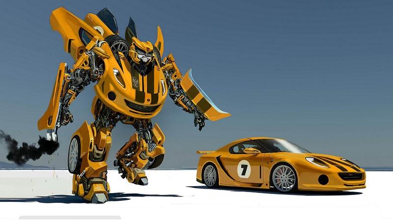 Фотообои Робот трансформер