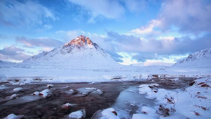 Фотообои Ледяной пейзаж