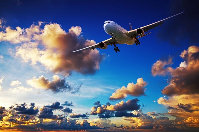 Фотообои Посадка самолёта