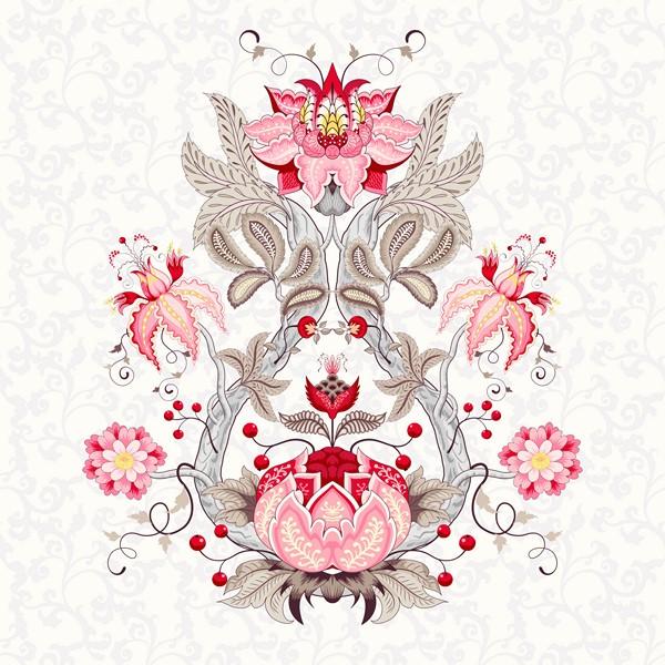 Фотообои Розовый шиповник фрагмент