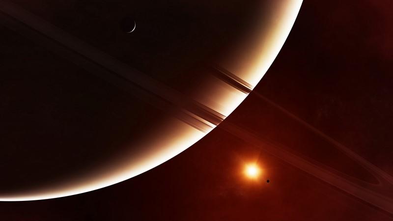Фотообои Кольца планеты
