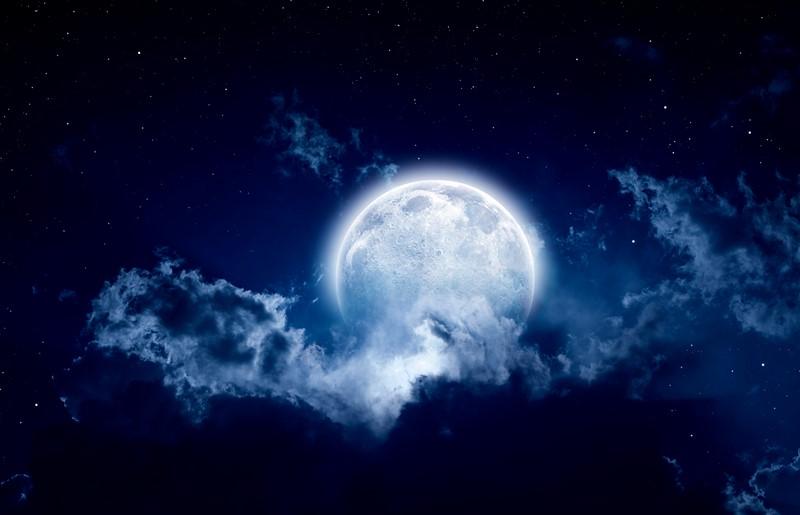Фотообои Волшебная Луна