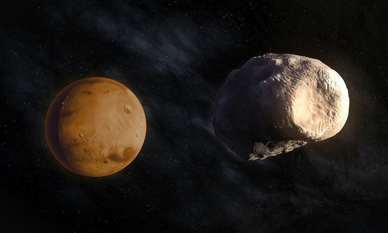 Фотообои Большой астероид