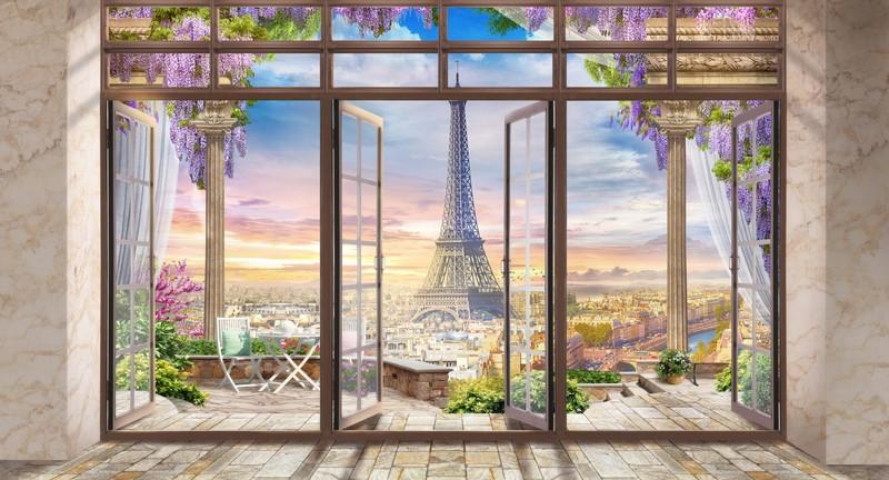 Фотообои Солнечный Париж