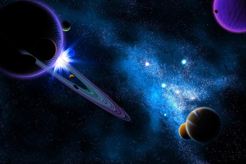 Фотообои Таинственный космос