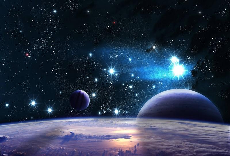 Фотообои Космическое сияние