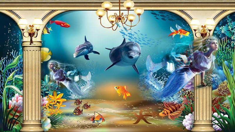 Фотообои Морское дно