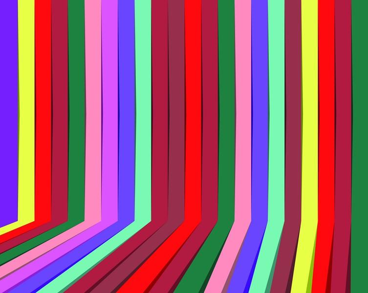 Фотообои Многоцветная абстракция