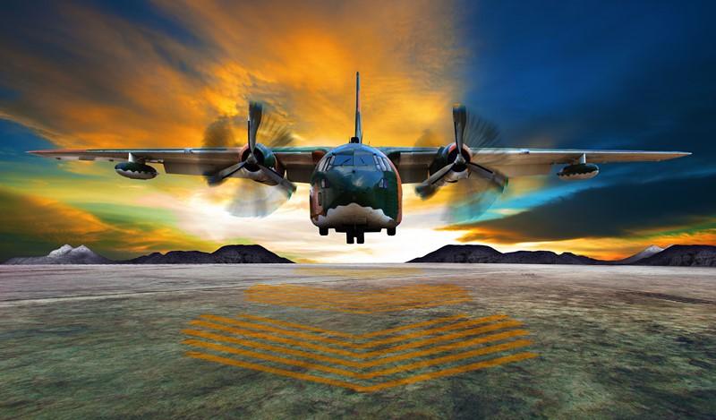 Фотообои Локхид C-130