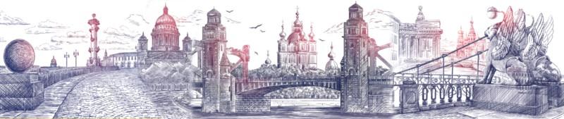 Фотообои Мосты Петербурга