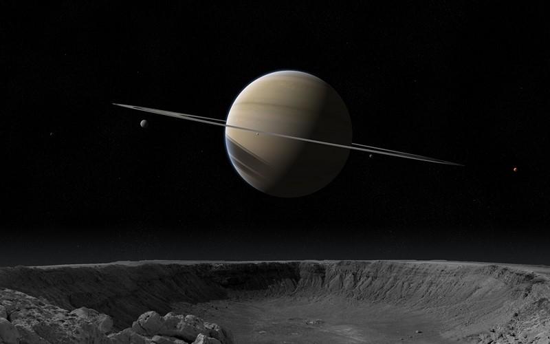 Фотообои Большой кратер