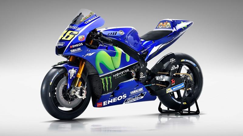 Фотообои Синий мотоцикл
