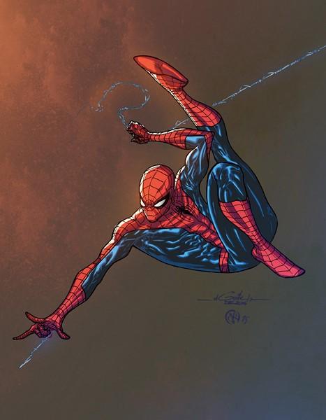 Фотообои Человек-паук Постер 2