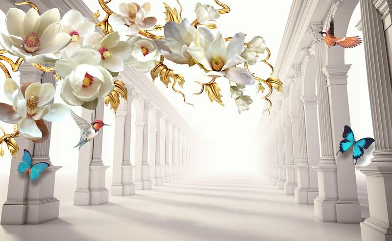 Фотообои Роскошные цветы