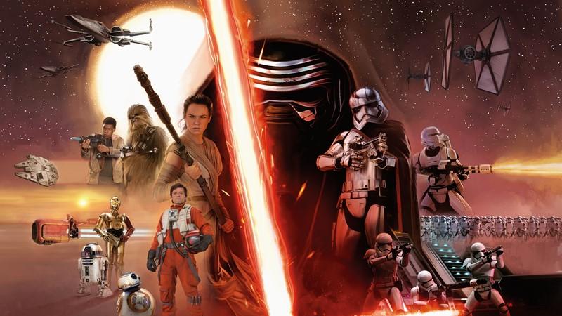 Фотообои Звёздные войны. Пробуждение силы