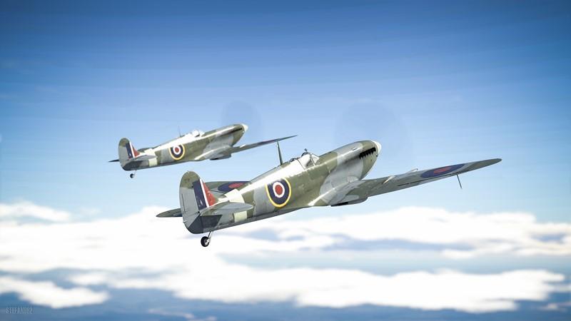 Фотообои War Thunder spitfire