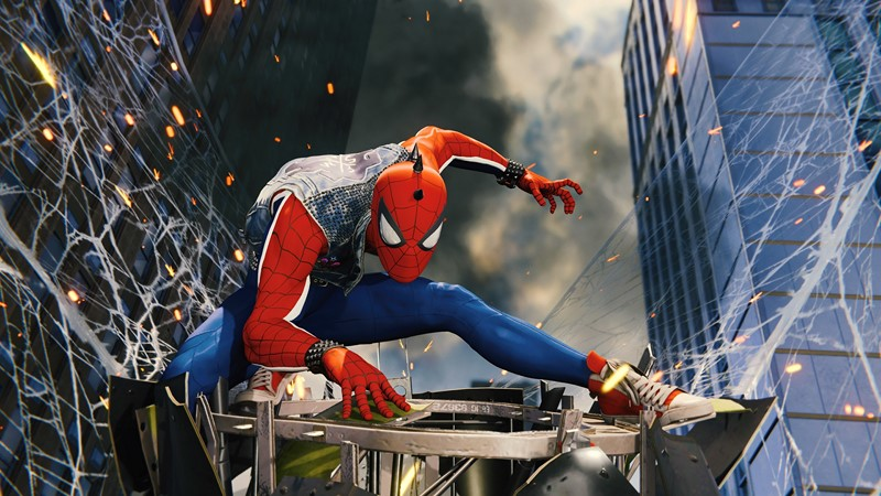 Фотообои Человек-паук Постер 4
