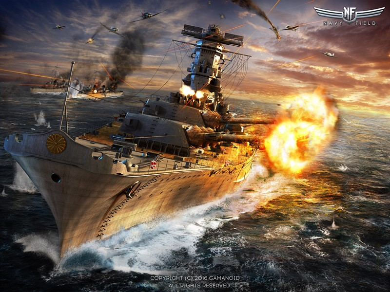 Фотообои Navy Field