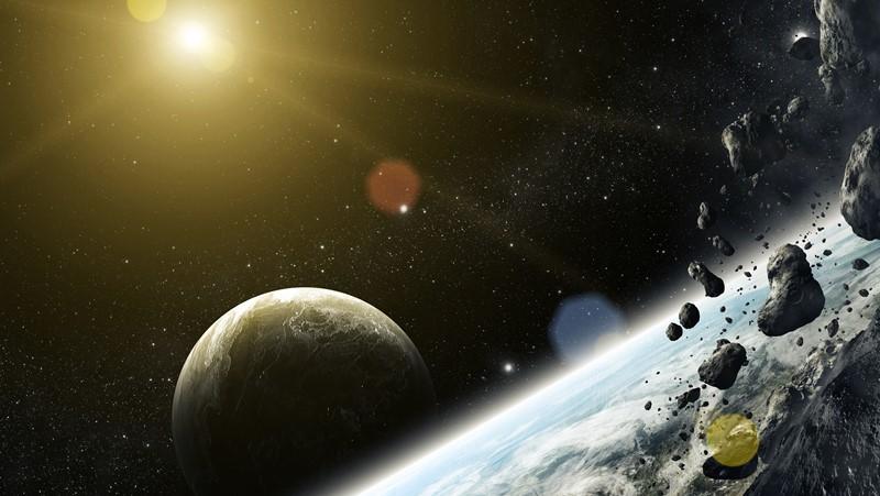 Фотообои Пояс астероидов
