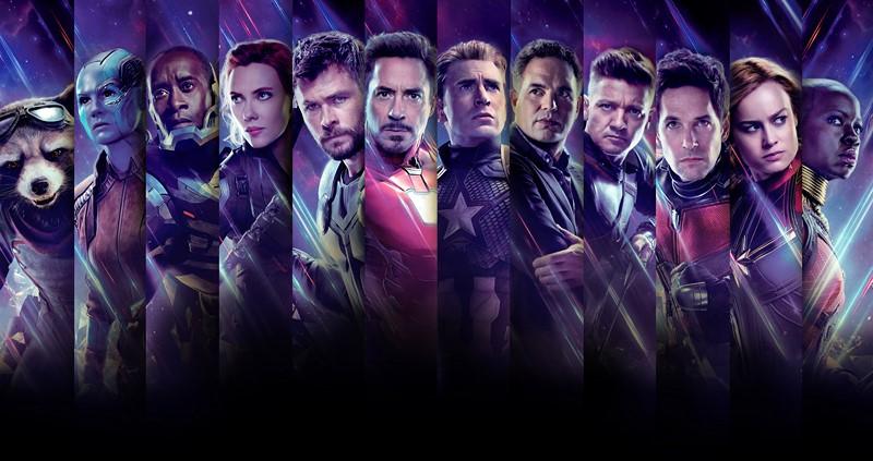 Фотообои Отважные Мстители
