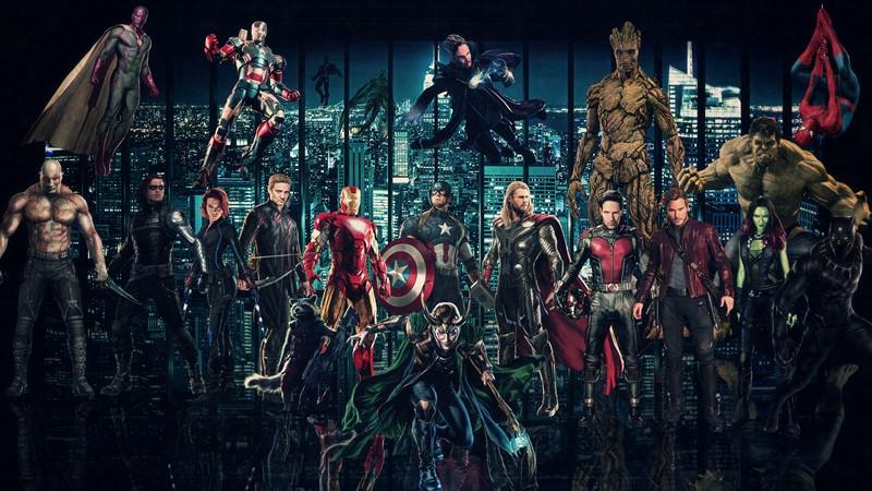 Фотообои Мстители. Война бесконечности