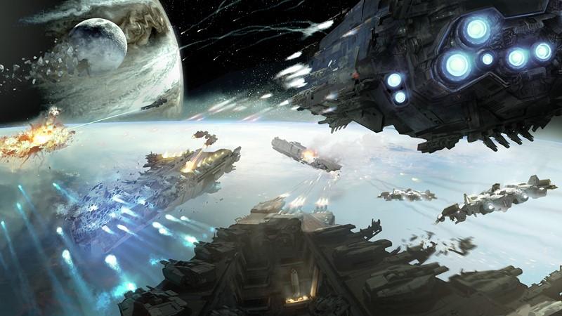 Фотообои Space battle