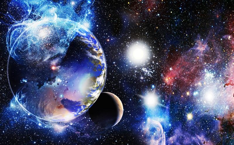 Фотообои Красочный космос