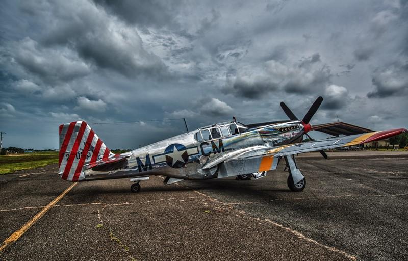 Фотообои Старый самолёт