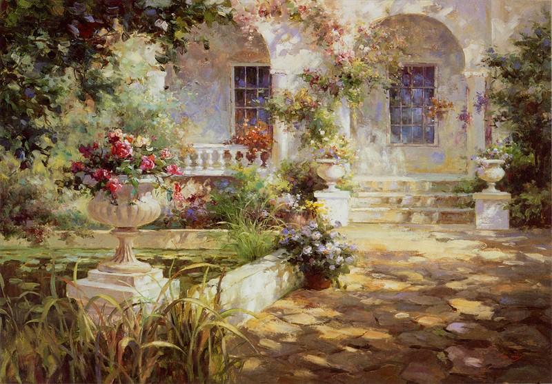 Фотообои Милый дворик