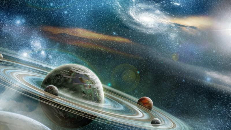 Фотообои Необычный космос