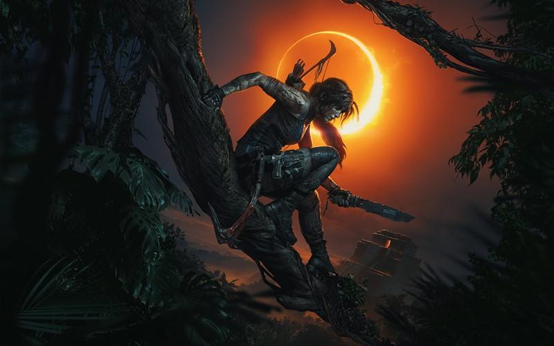 Фотообои Shadow of tomb raider