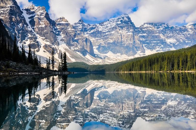 Фотообои Снежные вершины