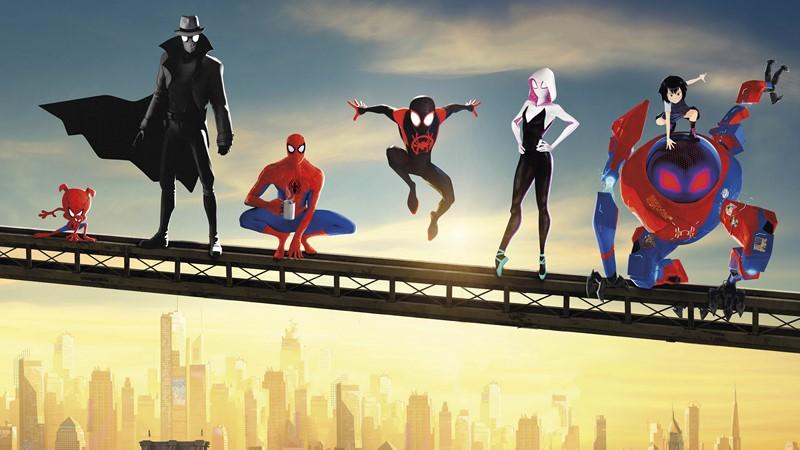 Фотообои Герои пауки