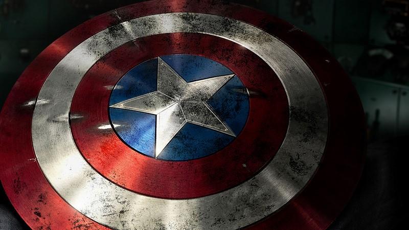 Фотообои Щит Капитана Америки