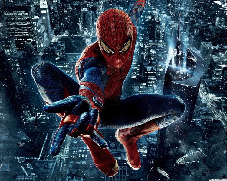 Фотообои Человек-паук в городе