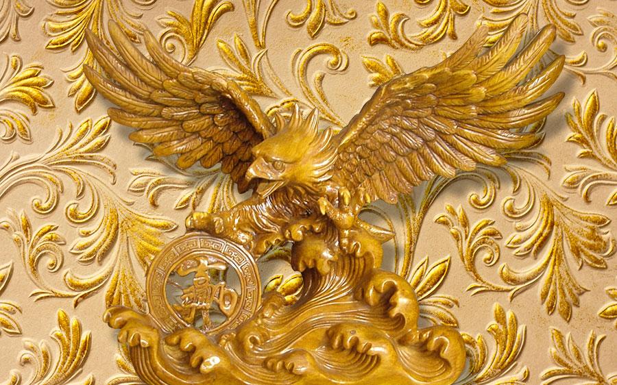 Фотообои Золотой орёл